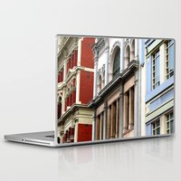 melbourne Laptop & iPad Skins featuring Melbourne Heritage by Carmen
