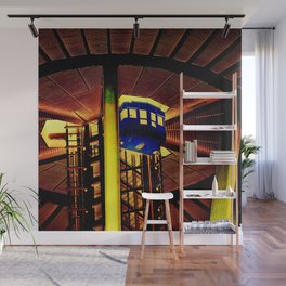 Space Needle Elevator Wall Mural