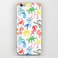 zodiac iPhone & iPod Skins featuring Zodiac by holi
