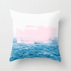 Ocean + Pink #society6 #decor #buyart Throw Pillow