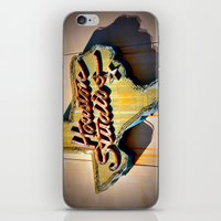 houston iPhone & iPod Skins featuring Houston Studios by Rachael Holliday