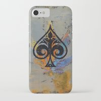 ace attorney iPhone & iPod Cases featuring Ace by Michael Creese