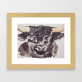 Meet Kyloe! Framed Art Print