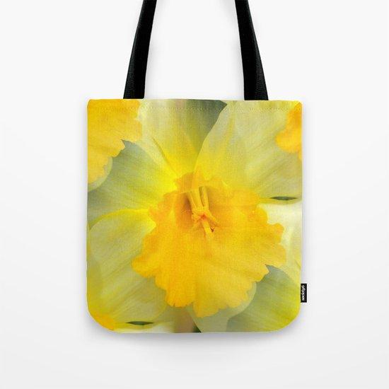 Endless Yellow Daffodil Tote Bag