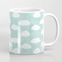 White clouds and blue sky Coffee Mug