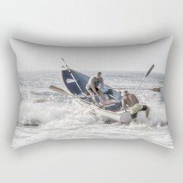 Get a leg up Rectangular Pillow