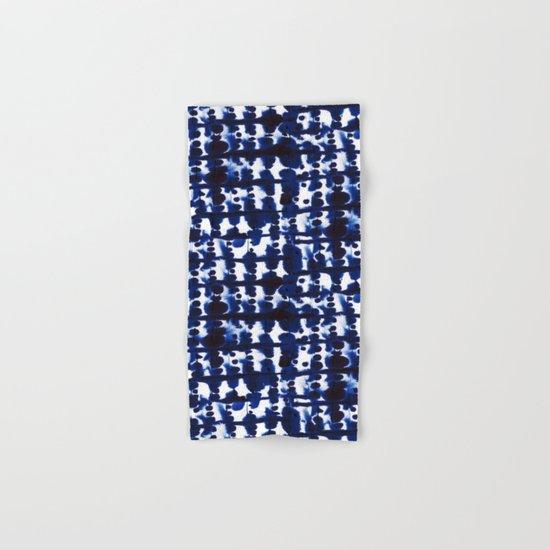 Parallel Indigo Hand & Bath Towel
