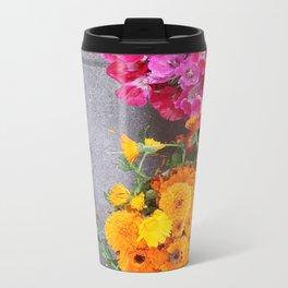 Feet n Flowers Metal Travel Mug