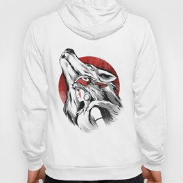 The girl and the wolf Hoody