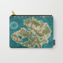 Pirate Adventure Map Carry-All Pouch