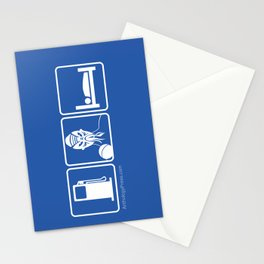 GAS. OOD. LODGING. Stationery Cards