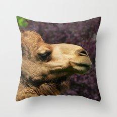 MM - Camel Throw Pillow