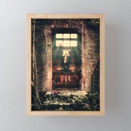 DOOR TO NOWHERE Framed Mini Art Print