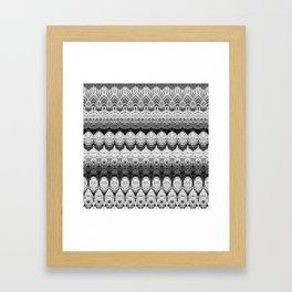 Rattan Framed Art Print