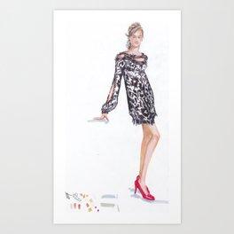 The Dress! Art Print