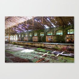 Abandoned Custom Shed Canvas Print