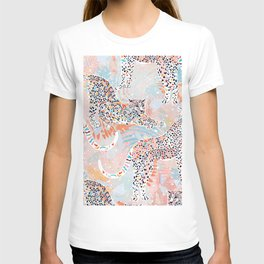 Colorful Wild Cats T-shirt