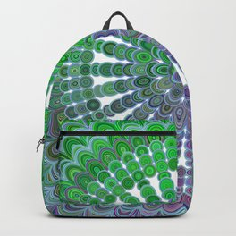 Spring Mandala Wheel Backpack