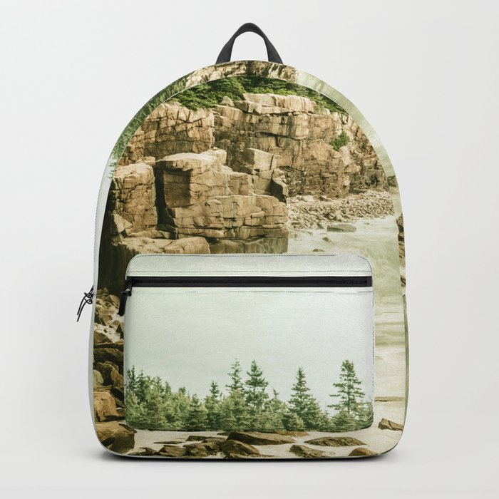 Acadia National Park Maine Rocky Beach Backpack