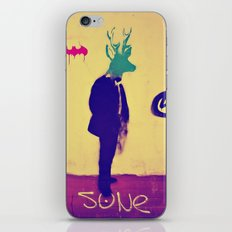 deer-head iPhone & iPod Skin