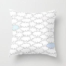 cloud Throw Pillow