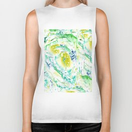 Drips of paint Biker Tank