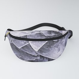 Cracked Ice Tiles In Lake Shore #decor #buyart #society6 Fanny Pack