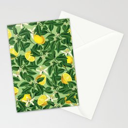 Lemonade || #society6 #decor #pattern Stationery Cards