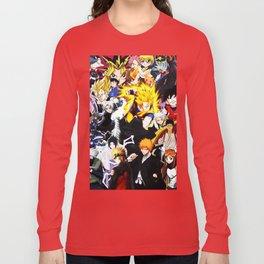 anime all Long Sleeve T-shirt