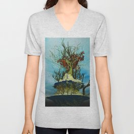 On the Top of the Top Unisex V-Neck