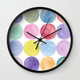 dotted and well organized Wall Clock