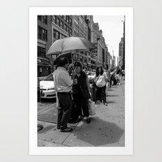 No Rain Art Print