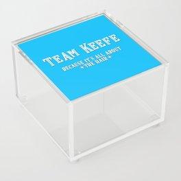 Team Keefe Acrylic Box