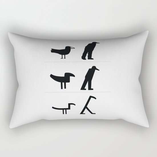 From Image to Sign Rectangular Pillow
