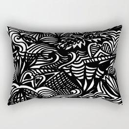 Swirled Rectangular Pillow