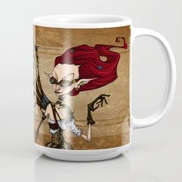 Steampunk running girl Coffee Mug