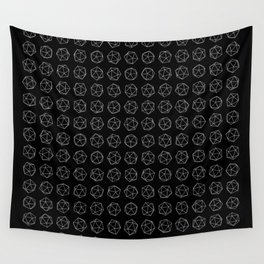 Platonic Disarray Wall Tapestry