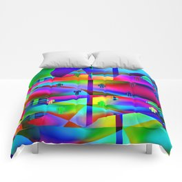 Folk art Comforters