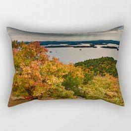Autumn colors in New Hampshire Rectangular Pillow