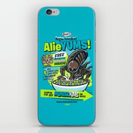AlieYUMS! (blue variant) iPhone Skin