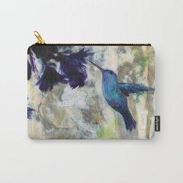 Hummingbird Haze Carry-All Pouch