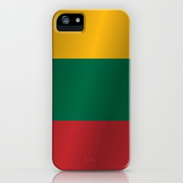 Flag of Lithuania iPhone Case