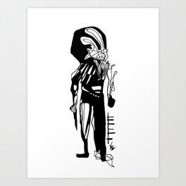 The Killer Art Print