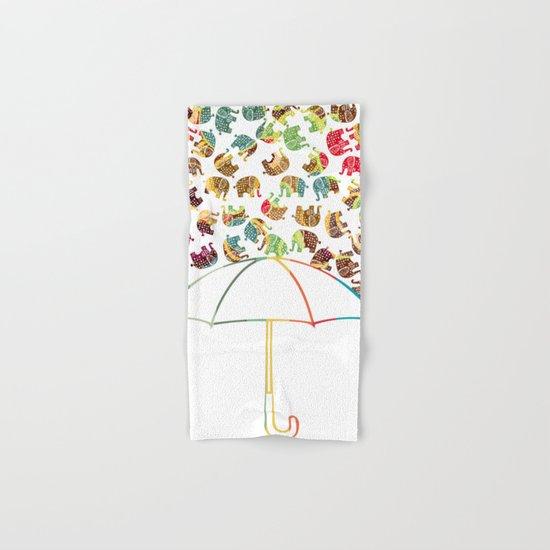 Rain in Africa Hand & Bath Towel