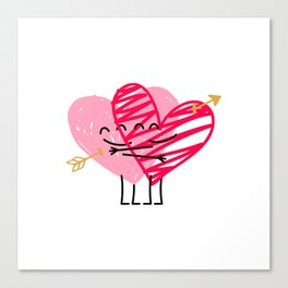 Love & Friendship Canvas Print