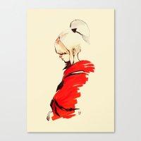chihiro Canvas Prints featuring CHIHIRO by chuma hill