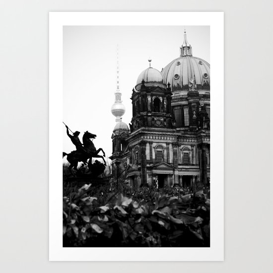 Untitled 26 - Berlin Art Print