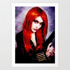 The Black Widow 2 (Avengers) Art Print