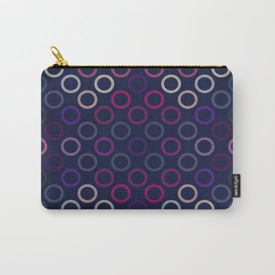 Colorful Circles VIII Carry-All Pouch