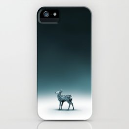 Baby Roe and Tree Conversation iPhone Case